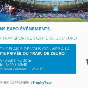 Carton d'invitation Euro 2016
