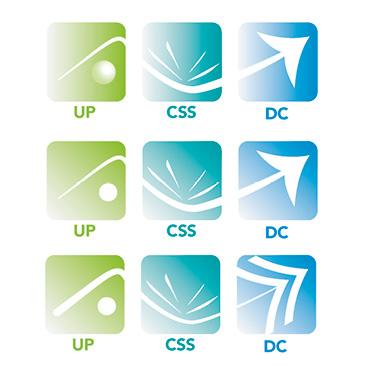 Création de logos pour 3 unités de travail SNCF - 2016