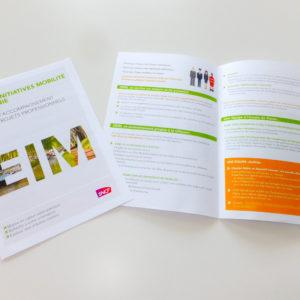 Dépliant SNCF EIM, communication interne - 2016